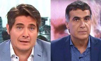 La insólita pregunta de Andino que descolocó a Laje en vivo | Televisión