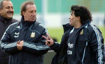 """Bilardo, a punto de descubrir la muerte de Diego: """"¿Qué pasa?""""   Fútbol"""