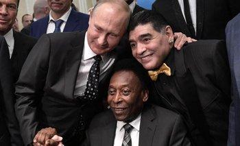 Las personalidades mundiales que estuvieron con Maradona   Todos querían una foto con él