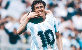 Video: el llanto de Jorge Valdano por la muerte de Diego Maradona | Campeones del 86