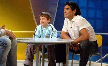 Agrandadytos: el emotivo recuerdo del chico que abrazó a Maradona a los 9 años | El destape radio