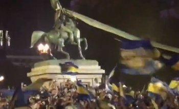 Emotivo video:  cantaron la marcha peronista en el velorio de Maradona   La despedida del ídolo