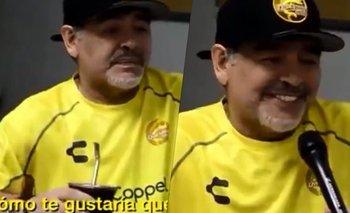 El día que Diego Maradona reveló cómo le gustaría ser recordado   Murió diego maradona