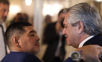 El pedido especial de Alberto para el funeral de Diego Maradona | Murió diego maradona
