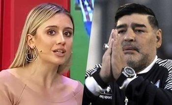 """Morena Beltrán pide justicia por la muerte de Maradona: """"Que paguen""""   Morena beltrán"""