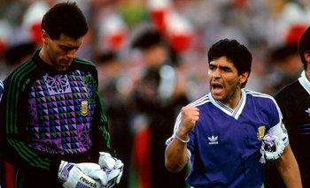El desgarrador llanto de Goycochea al hablar de Maradona al aire | Video