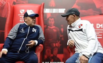 El día en el que no dejaron que Bochini vea a Maradona   Diego maradona