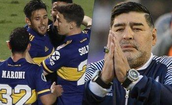 Una figura de Boca salió con amigos tras la muerte de Maradona | Murió diego maradona