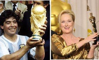 ¿Por qué Meryl Streep fue furor en Twitter tras la muerte de Maradona?   En redes