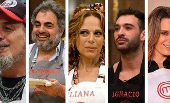 MasterChef: se termina el repechaje con 5 famosos en la gran final | Televisión