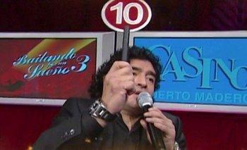 El día que Diego Maradona fue jurado del Bailando por un sueño | Televisión
