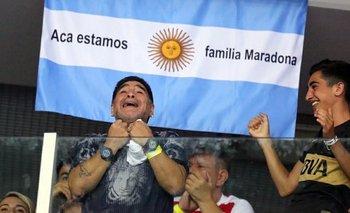 La historia del joven al que Maradona obligó a quedarse en su palco | Diego maradona