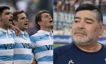 Las redes explotaron contra Los Pumas por no homenajear a Maradona | Los pumas