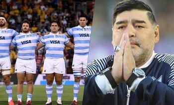 Los Pumas y una lamentable explicación tras no homenajear a Maradona | Murió diego maradona