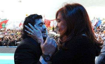 La anécdota de Maradona con Cristina que sorprendió a Fantino | Murió diego maradona
