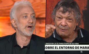"Galíndez descolocó a Andy Kusnetzoff con un comentario: ""Muñeco"" | Murió diego maradona"