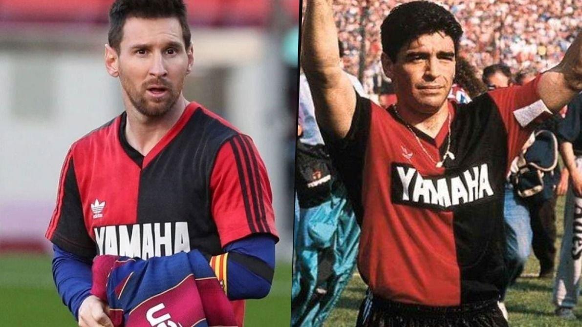 Messi y el homenaje a Maradona: las reglas y contratos que rompió | El Destape