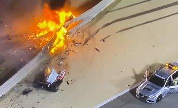 Impactante choque y milagro en la Fórmula 1: Grosjean salvó su vida en Bahrein | Fórmula 1
