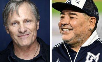 Viggo Mortensen compartió una anécdota inédita con Diego Maradona | Hollywood