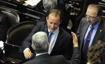 Insaurralde formalizó su renuncia como diputado | Martín insaurralde