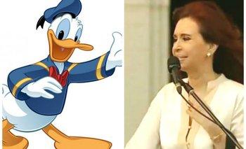Cristina, el Pato Donald y los chistes que invaden las redes sociales | La transición