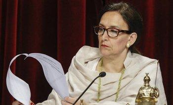 "La tesorera de la fundación de Michetti: ""Nunca hice balances en SUMA""   Las bolsas de michetti"
