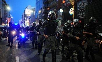 Incidentes tras una manifestación en contra de la cumbre de la OMC   Cumbre de la omc
