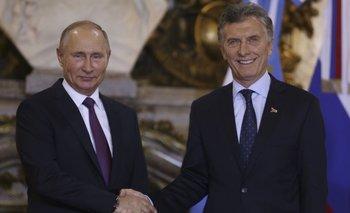 Macri hizo un chiste sobre un funcionario para hacer reír a Putin y no funcionó | Vladimir putin