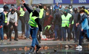 """Crece la tensión en Europa   Los """"chalecos amarillos"""" se extendieron a Bélgica y hay conflictos   Bélgica"""
