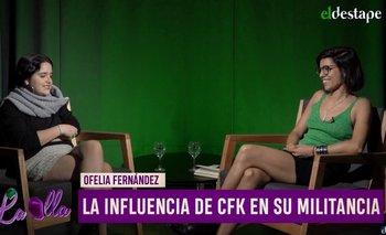 Ofelia Fernández contó cómo descubrió a Cristina Kirchner a sus 11 años | Juan grabois