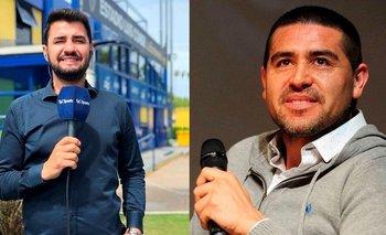 El tenso cruce de Riquelme con Tato Aguilera | Elecciones en boca