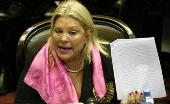 Para culpar a Cristóbal, Carrió denunció a Susana y Mirtha Legrand | Justicia