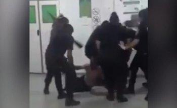 Brutal ataque policial en un hospital de Florencio Varela | Policía bonaerense