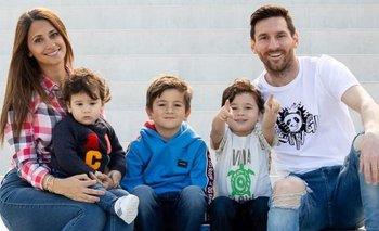 El emotivo video de Antonella y sus hijos que emocionó a Messi | Lionel messi