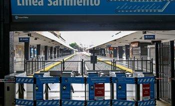 Por exceso de trabajadores aislados, suspenden el Tren Sarmiento | Tren sarmiento