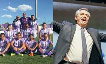 Alberto le trajo suerte a Sacachispas   Fútbol argentino