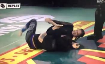 Video: una luchadora de UFC le quebró el brazo a su rival  | Ufc