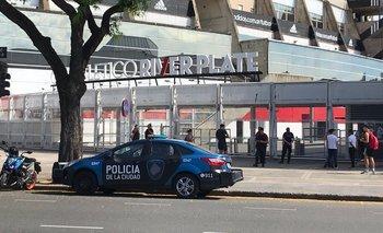 Amenaza de bomba en el estadio Monumental | River plate