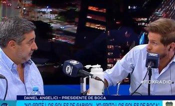 Pelea e intento de censura: qué pasó entre Vignolo y Angelici | Antes de la entrevista en fox
