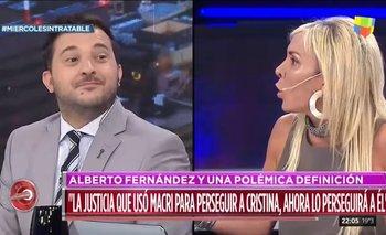 Intratables llevó a diputada PRO y terminó elogiando a Alberto | Interna en cambiemos