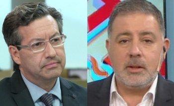 El tenso cruce entre Fabián Doman y Ceferino Reato   Intratables