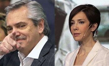 El descargo de Cristina Pérez a Alberto Fernández | Medios