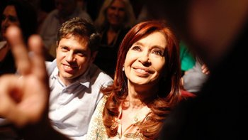La emotiva ovación a Cristina Kirchner y Axel Kicillof | Cristina kirchner