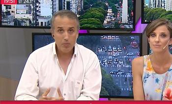 El descargo del conductor de TN tras el violento ataque a Cristina   Todo noticias