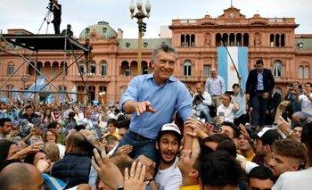 La foto de Macri que generó una ola de bromas en las redes | Redes sociales