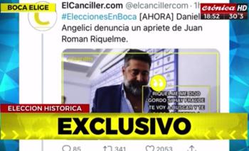 Crónica TV difundió una fake news de Riquelme | Televisión
