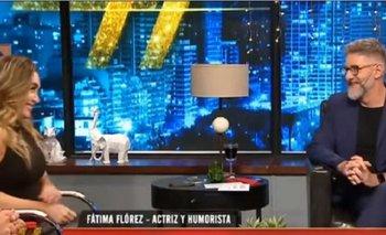 Fátima Flores imitó a CFK para chicanear a Novaresio | Televisión