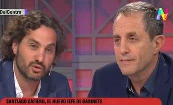 Cafiero cruzó a O´Donnell y Tenembaum por el peronismo | Alberto presidente
