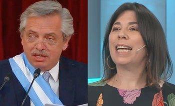 O'Donnell criticó los anteojos de Alberto y fue repudiada | Alberto presidente