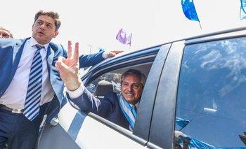 En la lotería salió el número de patente del auto de Alberto | Alberto presidente